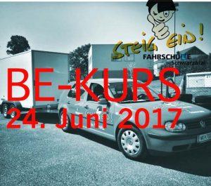 BE-Kurs ab 24. Juni